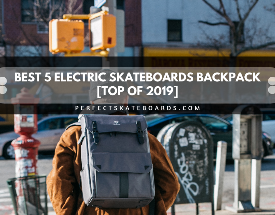 Best 5 Electric Skateboards Backpack [Top of 2019]