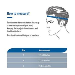 How do you measure your head for a skateboard helmet