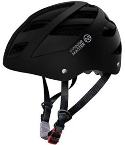 outdoor master sElectric kateboard helmet