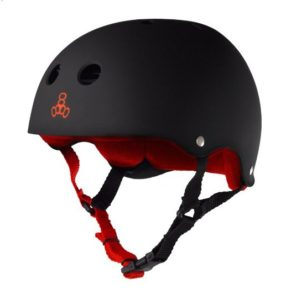 Triple 8 sweat saver electric skateboard helmet