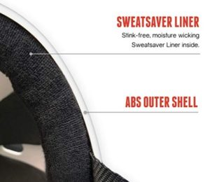 skateboard helmet sweat absorbing