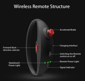 Koowheel Electric remote control structure