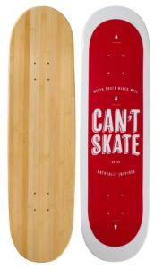 Bamboo Skateboards Geometric Graphic