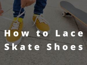 How to Lace Skate Shoes
